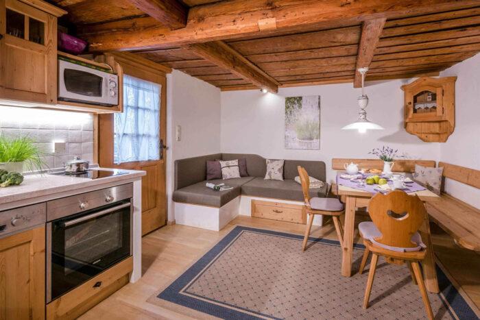 Ferienwohnung Lavendel, Wohnbereich, Huberhof Ollerding